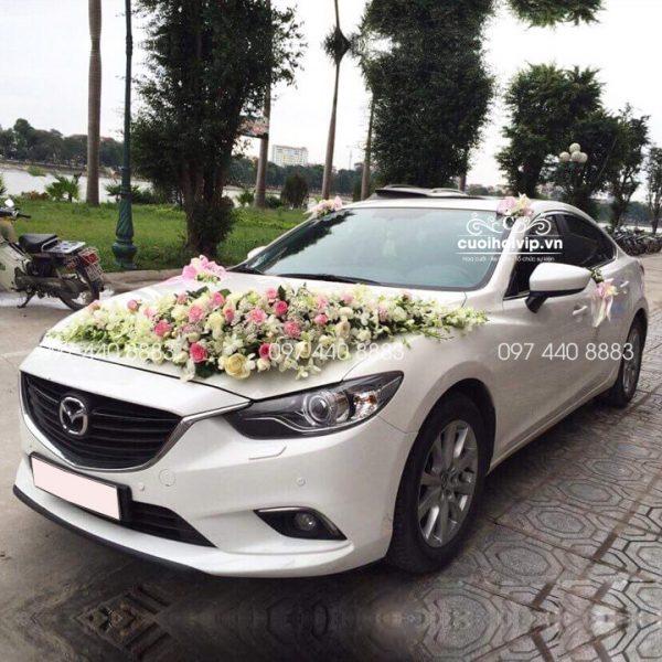 Thuê xe cưới giá rẻ Mazda 6