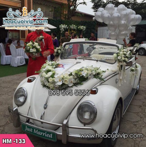 Hoa xe cưới HM-133