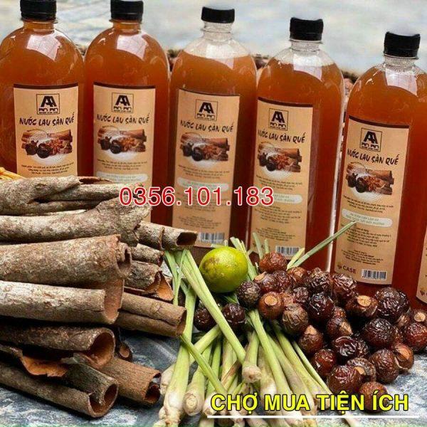 Nước Lau Sàn Organic Hương Quế AnAn