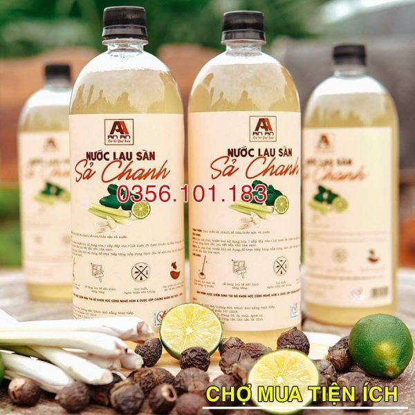 Nước lau sàn organic hương sả chanh